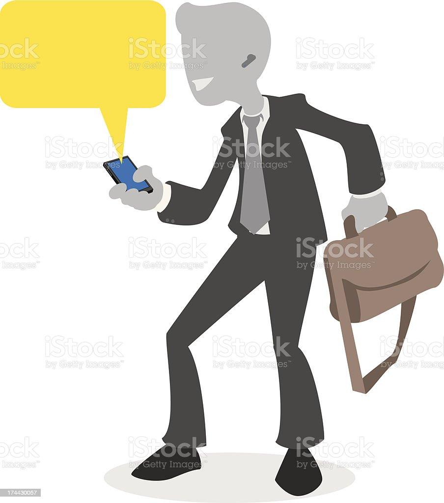 Salesman royalty-free stock vector art