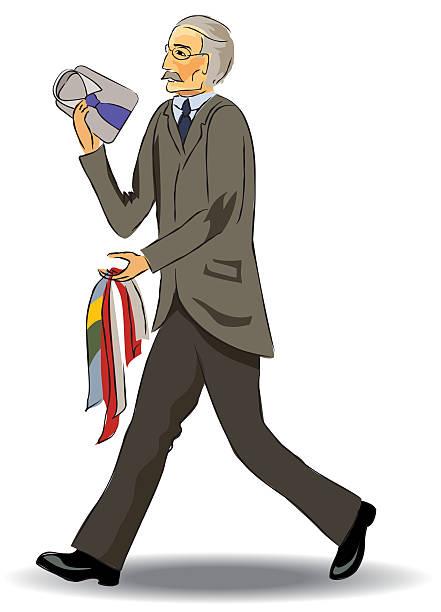salesman - mens fashion stock illustrations, clip art, cartoons, & icons