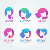 Salon and Spa icon Collections