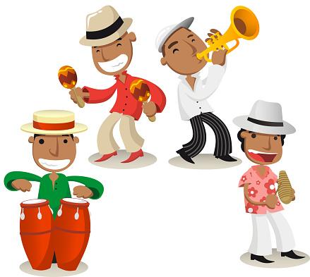 Salsa music band