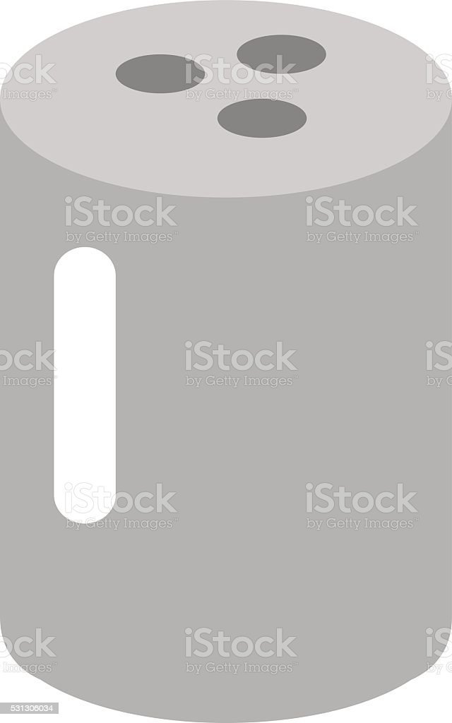 Salt cellar vector illustration vector art illustration