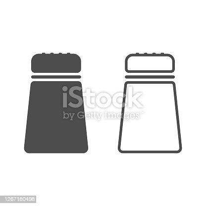 istock Salt Icon Vector Design. 1267180498