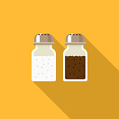 Salt & Pepper Flat Design Thanksgiving Icon