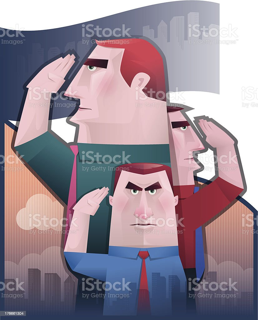 saluting royalty-free saluting stock vector art & more images of adult