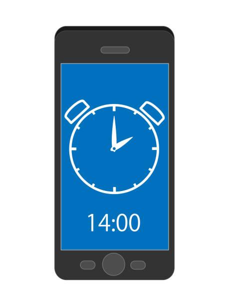 samartphone watch – artystyczna grafika wektorowa