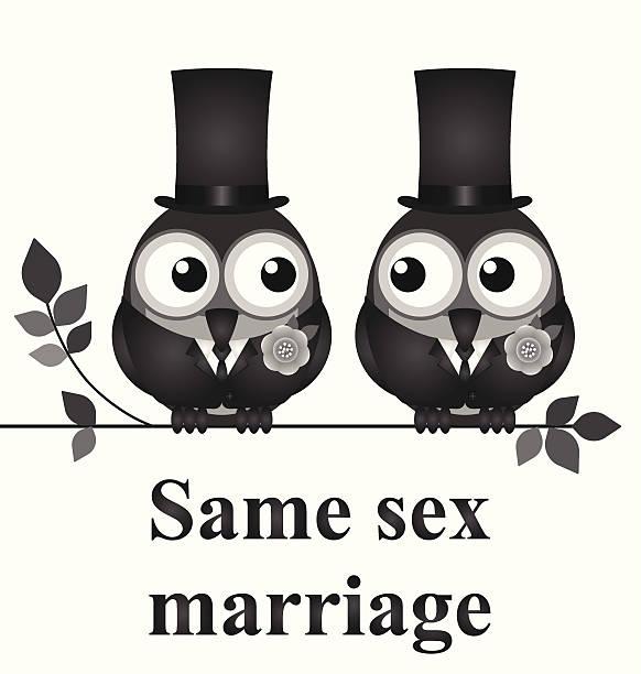 同一性結婚 - 同性カップル点のイラスト素材/クリップアート素材/マンガ素材/アイコン素材