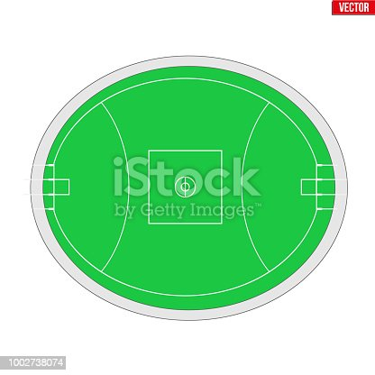 istock Sample Australian rules football field 1002738074