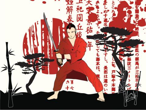 samurai blood