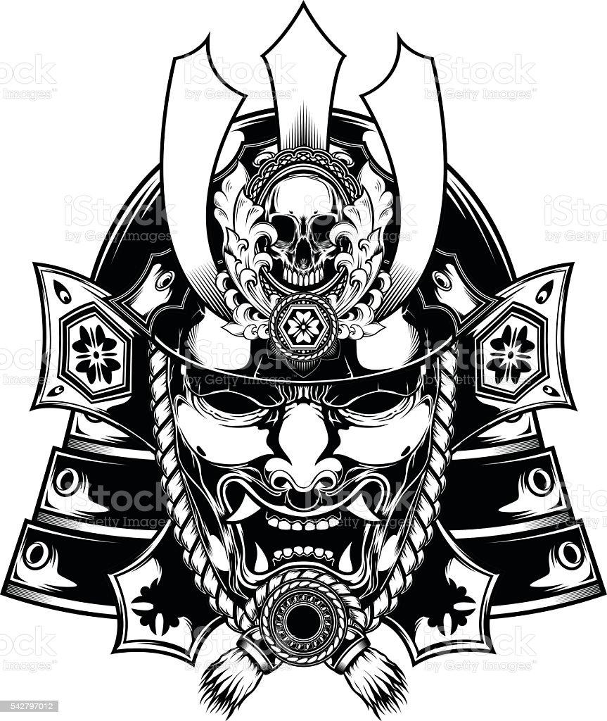 Samurai Mask Japanese ...