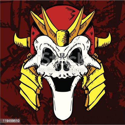 Samurai Skull Mask