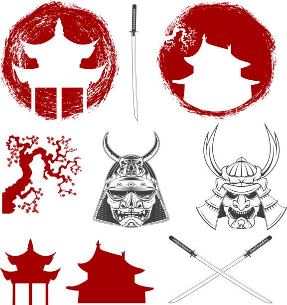 Royalty Free Samurai Clip Art, Vector Images ...
