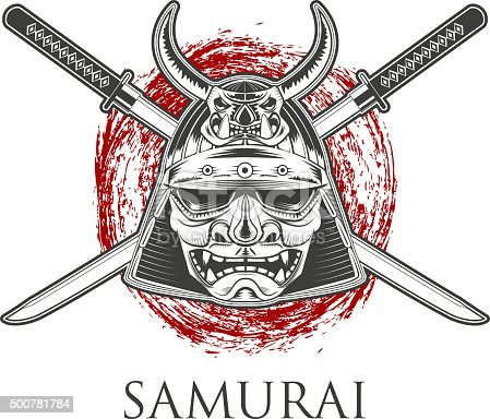 Samurai Warrior Mask W...