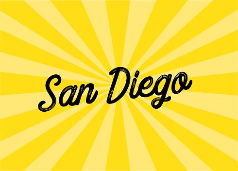 San Diego Lettering Design
