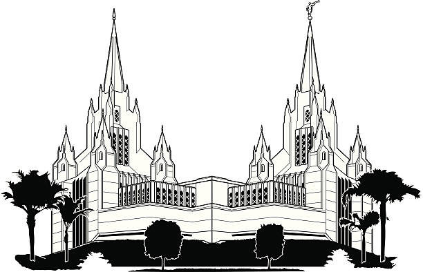 Top 60 Lds Temple Clip Art Vector Graphics And Illustrations Istock