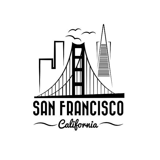 Royalty Free Golden Gate Bridge Clip Art, Vector Images