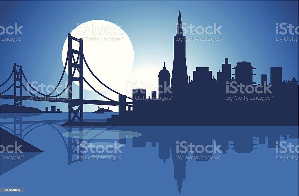San Francisco royalty-free san francisco stock vector art & more images of alcatraz island