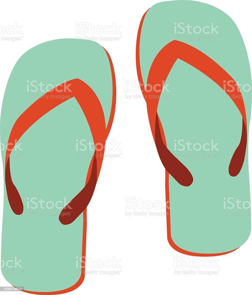 sandal royalty-free stock vector art