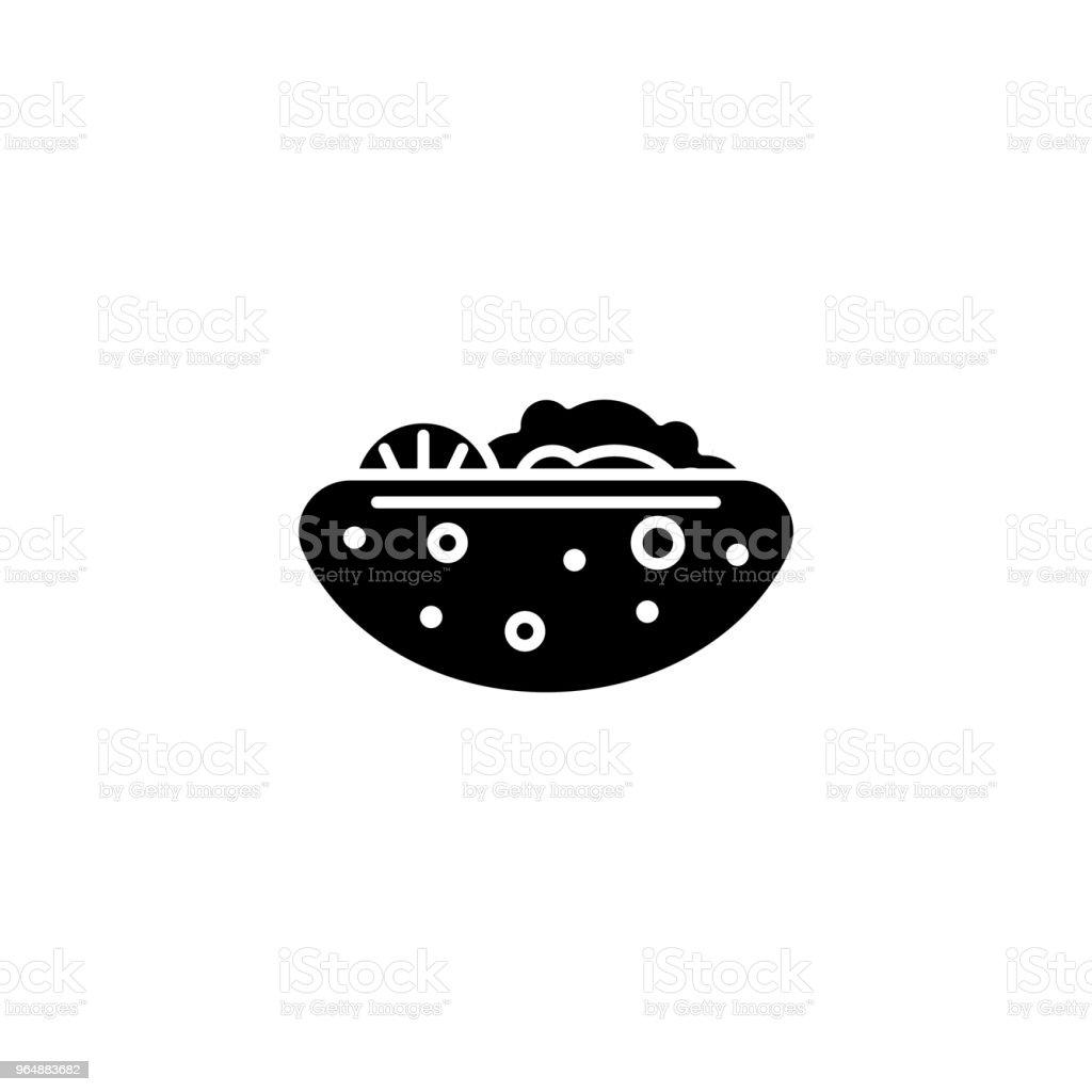 Sandwich black icon concept. Sandwich flat  vector symbol, sign, illustration. royalty-free sandwich black icon concept sandwich flat vector symbol sign illustration stock vector art & more images of art