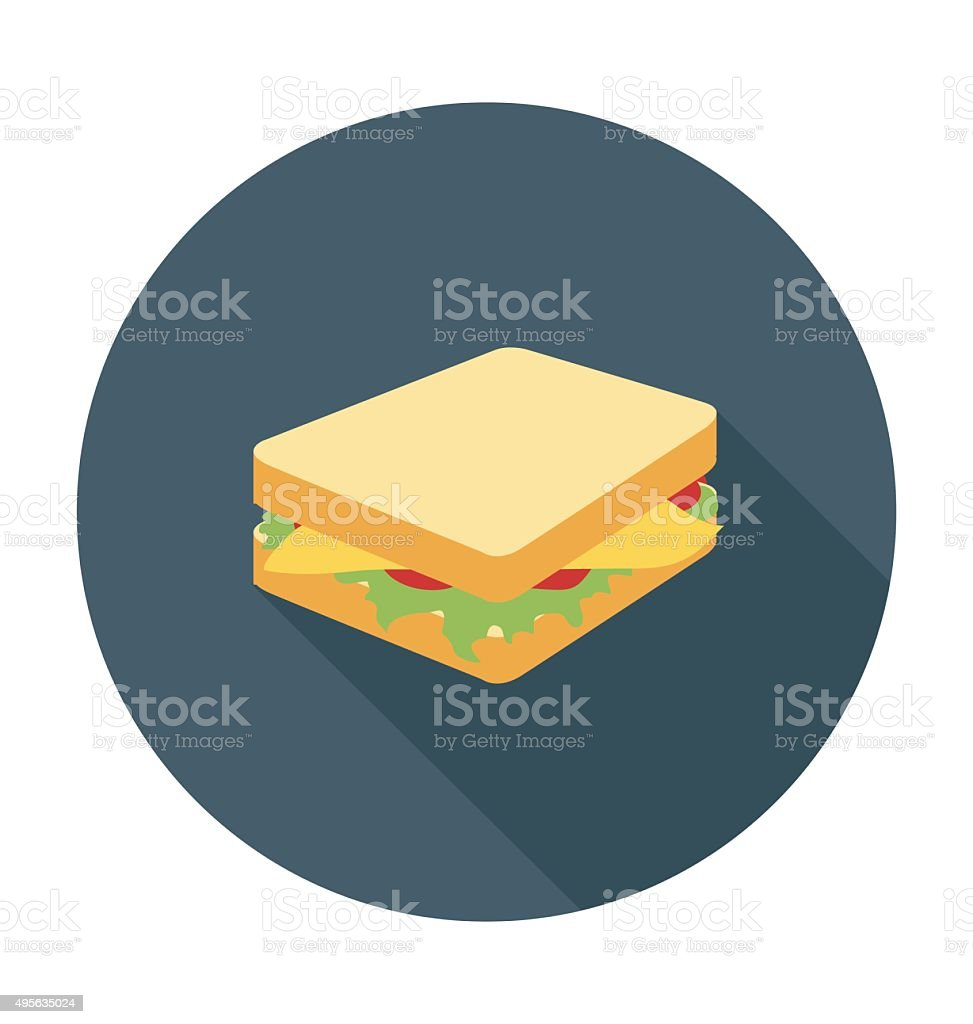 Ilustración vectorial de bocadillo de color - ilustración de arte vectorial