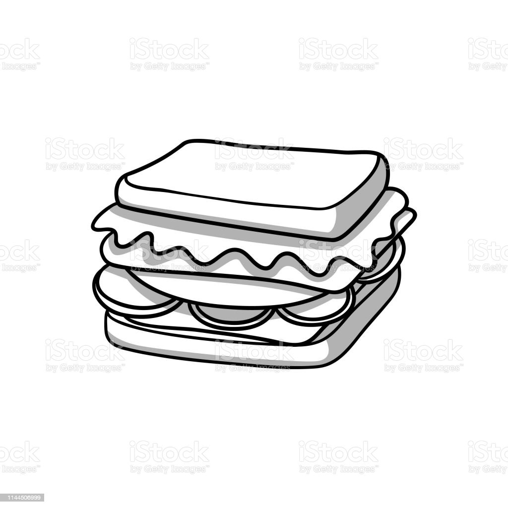 sandwich illustration stock illustration download image now istock sandwich illustration stock illustration download image now istock