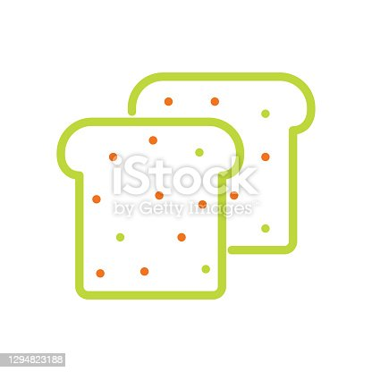 Sandwich Line Icon.Editable Stroke