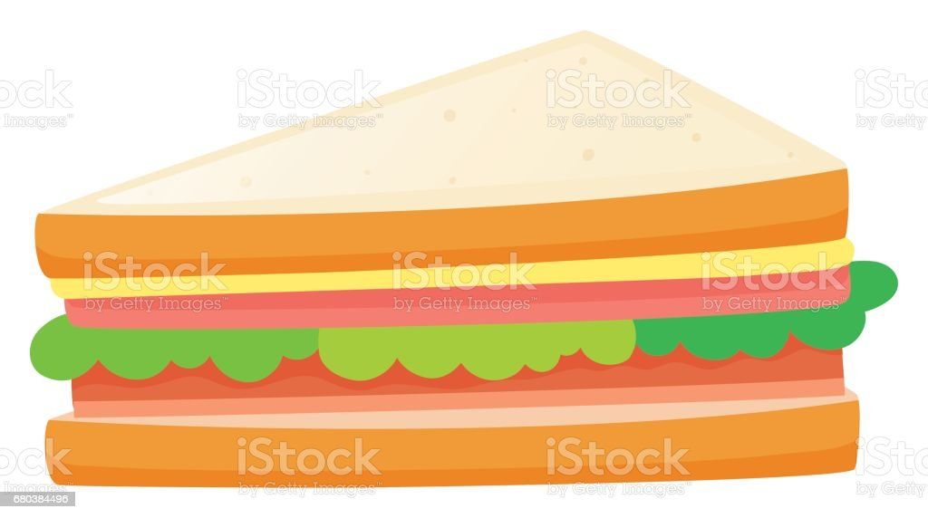 Sandwiches with meat and vegetables royalty-free sandwiches with meat and vegetables stock vector art & more images of art
