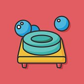 sanitary washing soap icon