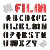 Sans serif decorative font
