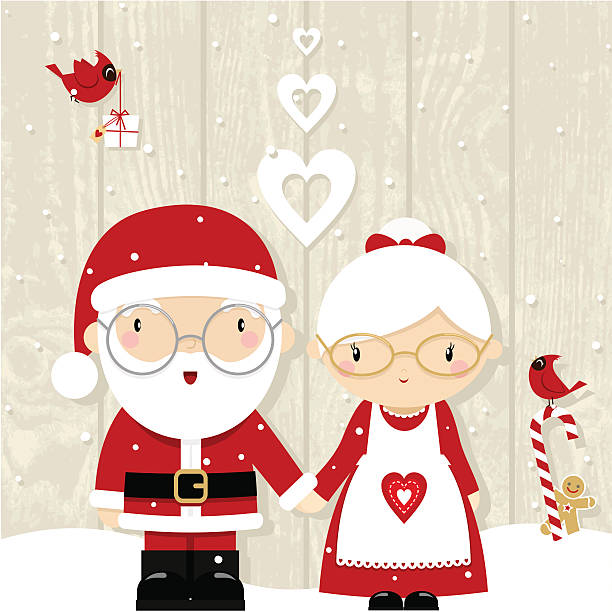 Best Mrs Claus Illustrations, Royalty-Free Vector Graphics ...