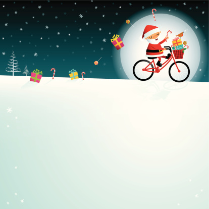 Santa by moonlight!