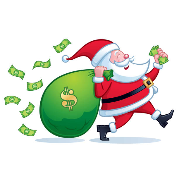 Royalty Free Christmas Cash Clip Art, Vector Images ...
