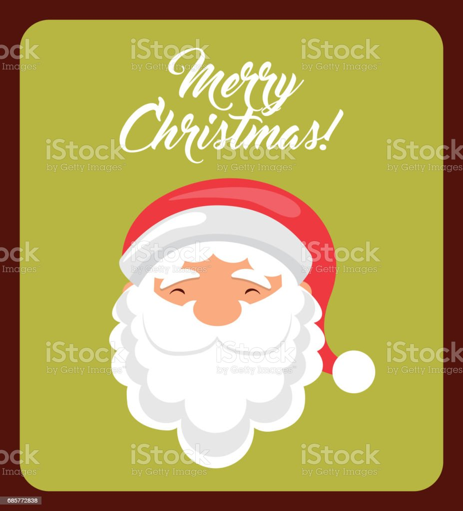 Santa cartoon icon. Merry Christmas design. Vector graphic royalty-free santa cartoon icon merry christmas design vector graphic stock vector art & more images of arts culture and entertainment