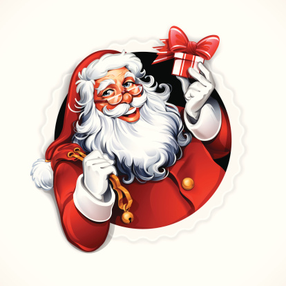 Santa Claus Badge
