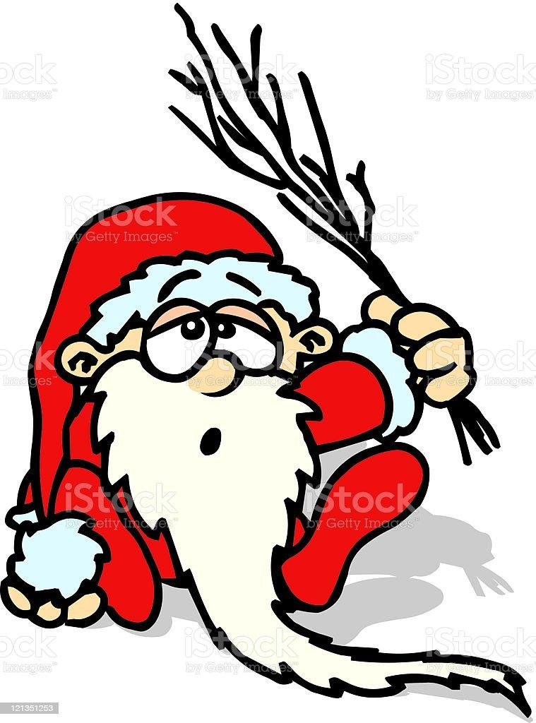 Santa Claus Cartoon royalty-free stock vector art