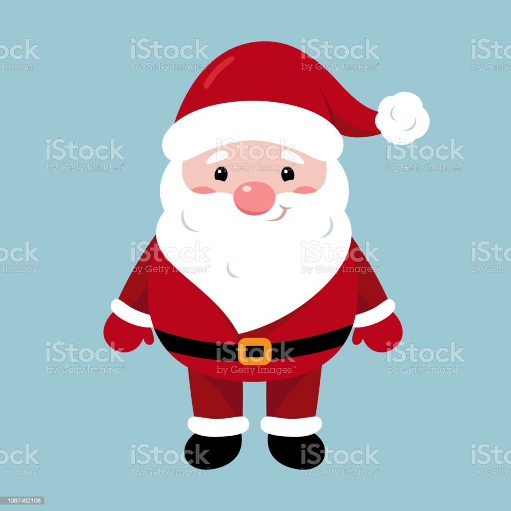 Vetores De Personagem De Papai Noel Feliz Natal E Feliz Ano Novo