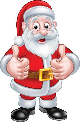 Santa Claus Christmas Cartoon Character Stock Illustration ...