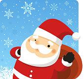 Santa design.