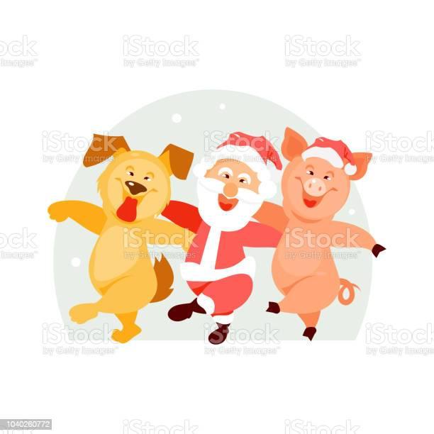 Santa claus dog and pig vector vector id1040260772?b=1&k=6&m=1040260772&s=612x612&h=8hgy6dwgq408oqlqnf0z7xanw gaopcbmusgsb4jkcg=