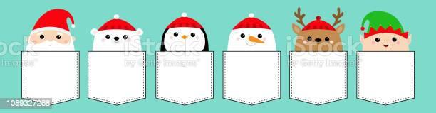 Santa claus elf white bear snowman raindeer deer penguin bird face vector id1089327268?b=1&k=6&m=1089327268&s=612x612&h=jt4wyovaitjvym33edc3fkiuizw7tt3uwfi8v0ozdpo=