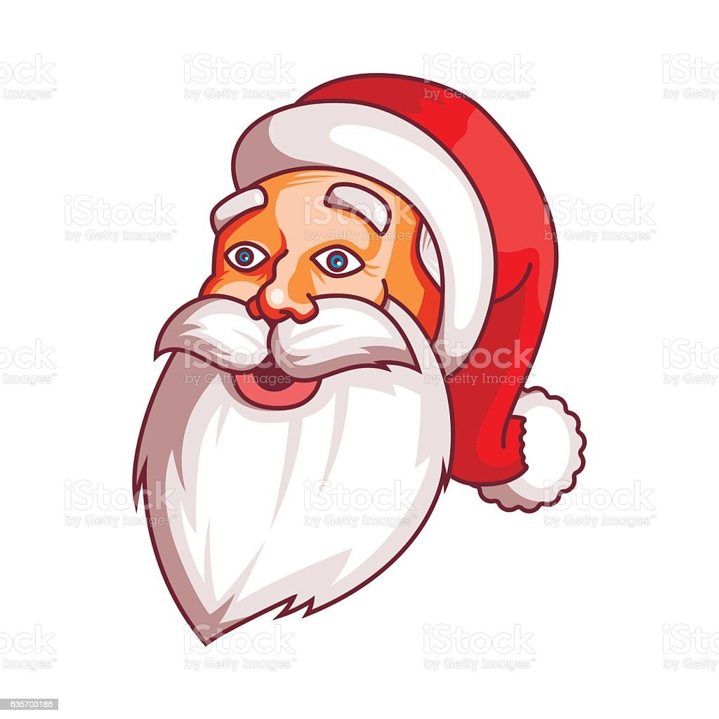 Santa claus emotions. Part of christmas set. Surprise, wonder, marvel royalty-free santa claus emotions part of christmas set surprise wonder marvel stock vector art & more images of backgrounds