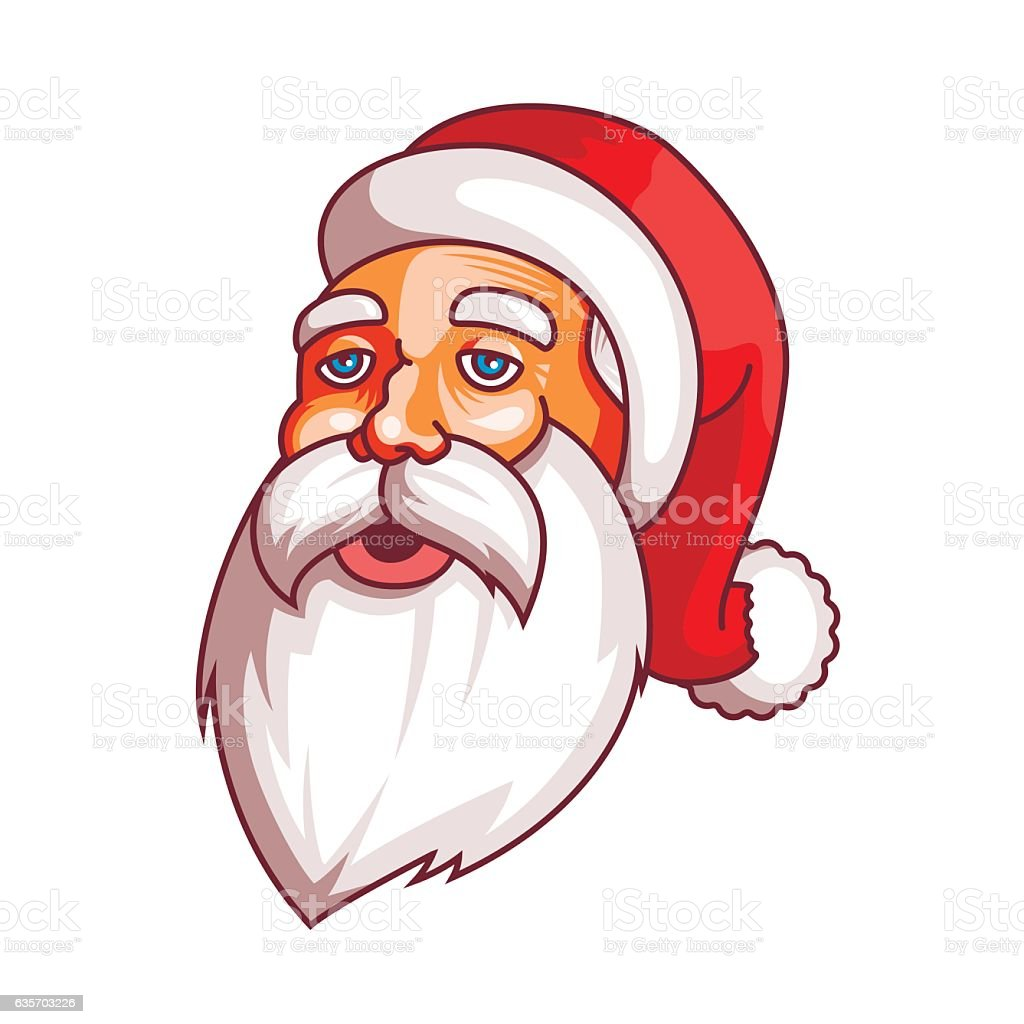 Santa claus emotions. Part of christmas set. Tired,weary. Ready royalty-free santa claus emotions part of christmas set tiredweary ready stock vector art & more images of backgrounds