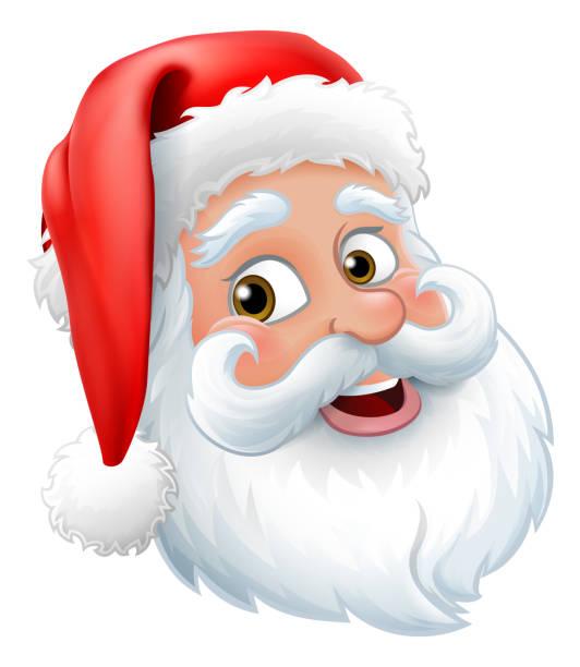 weihnachtsmann vater weihnachten cartoon charakter - nikolaus stock-grafiken, -clipart, -cartoons und -symbole