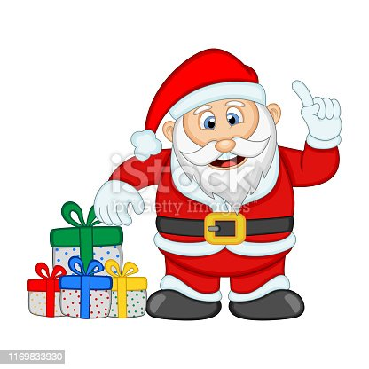 Santa Claus For Your Design Illustration - full color