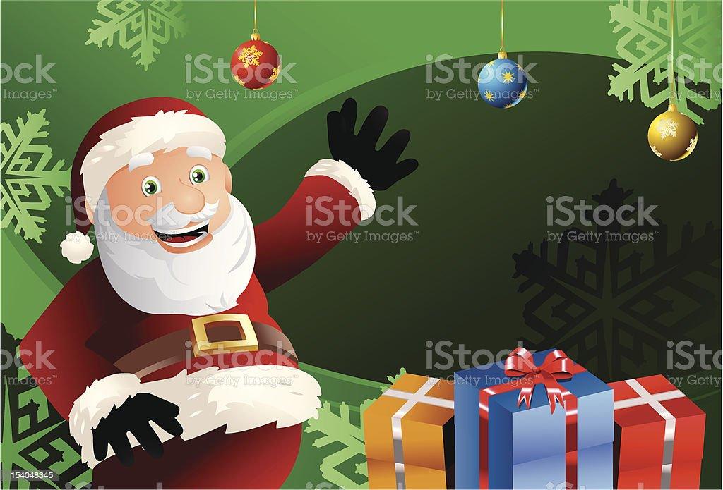 santa claus gift royalty-free santa claus gift stock vector art & more images of active seniors