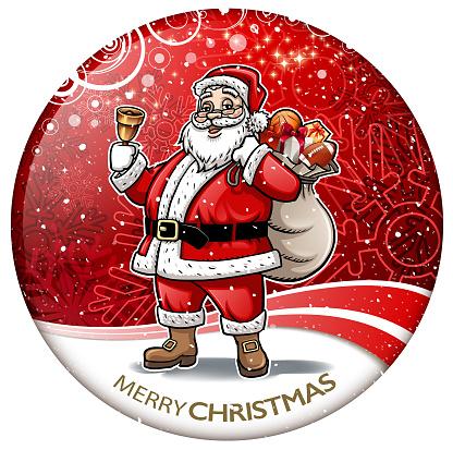 santa claus greeting shielding