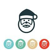 istock Santa Claus Icon 510185075