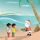 santa claus in the tropics