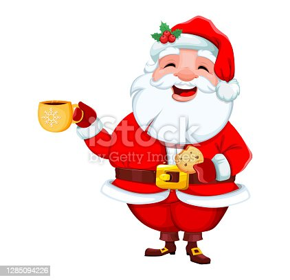 istock Santa Claus. Merry Christmas and Happy New Year 1285094226
