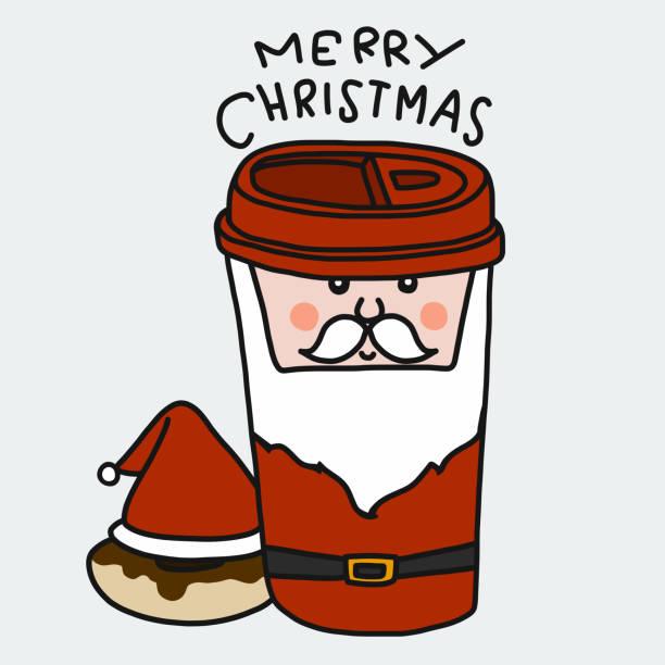 Royalty Free Santa Mug Clip Art, Vector Images ...