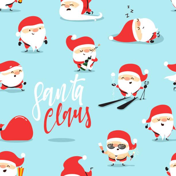 christmas smiley faces cartoons clip art vector images illustrations - Christmas Smiley Faces